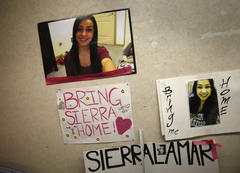 sierra lamar: in morgan hill, teen's family, friends mark anniversary of her disappearance